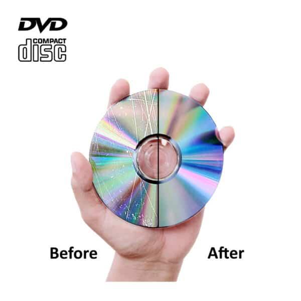 CD dvd and blu ray disc scratch repair service