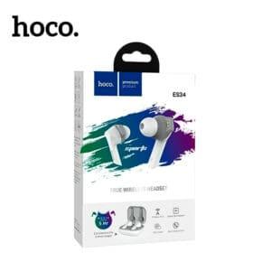 Hoco es34 true wireless bluetooth earphones in case