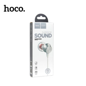 Hoco m51 universal earphones with microphone in white colour new in box