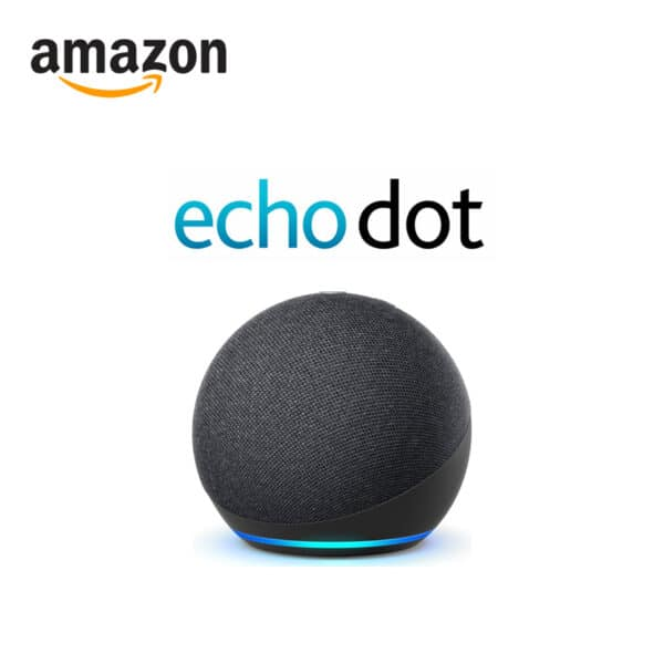 Amazon echo dot 4th generation smart speaker with alexa in charcoal colour