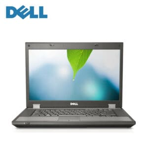 Refurbished dell latitude laptop computer with 15.6 inch screen