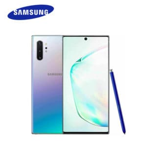 samsung galaxy note 10 mobile phone in various colours