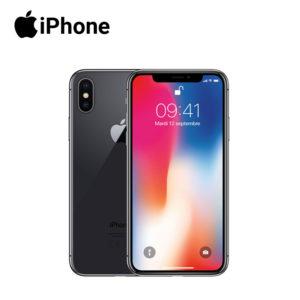 iphone x in space grey 256 gigabyte model