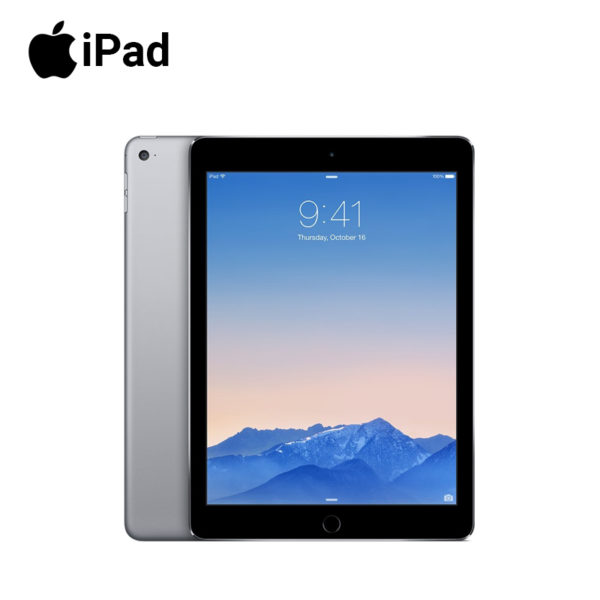 apple ipad air 2 second generation with 64gb ram and a nine pooint seven inch screen