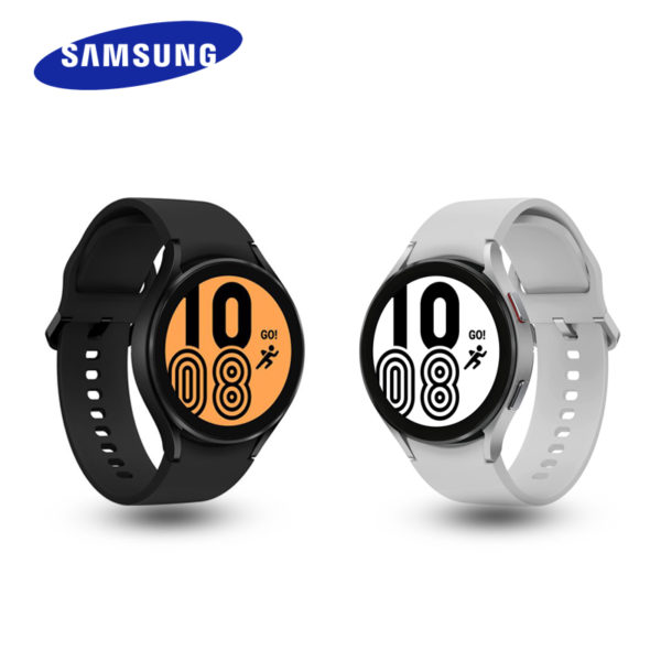 samsung galaxy watch4 in black and silver