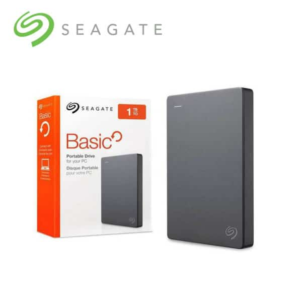 seagate basic 1tb and 2tb external harddrive